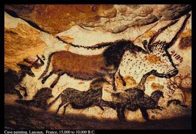 Lascaux cave painting of Longhorse