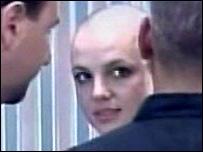 Britney, Bald