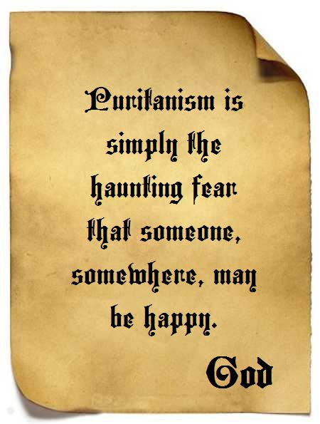 God and Puritans
