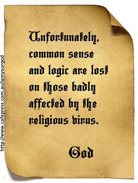 God and Commonesense