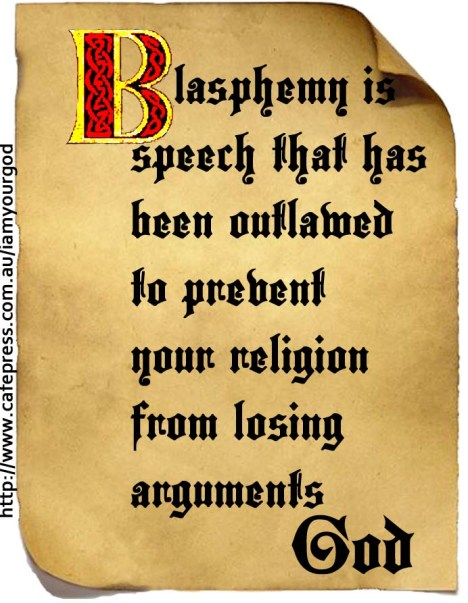 God and Blasphemy1