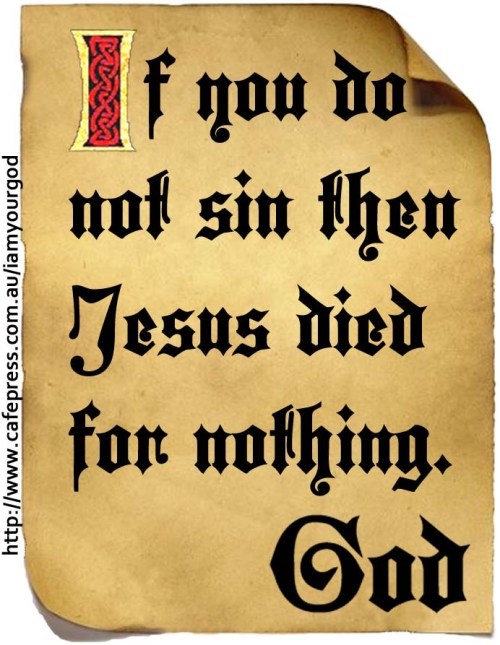 God and Sin
