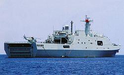 Chinese warship Changbaishan