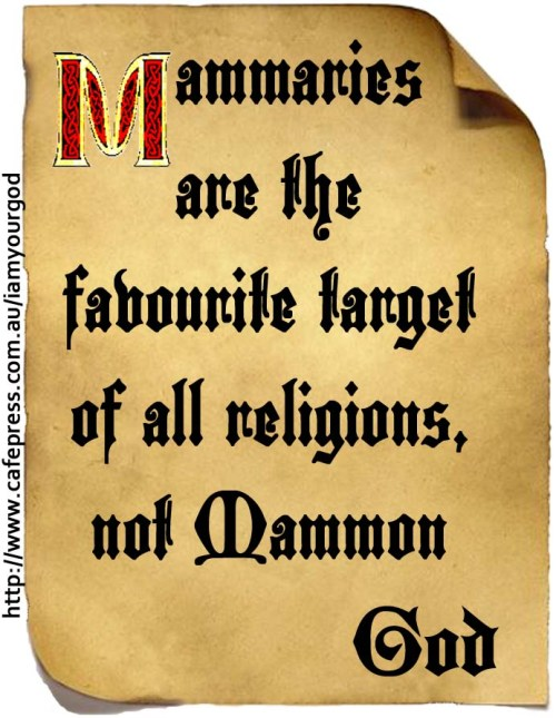 God and Mammaries