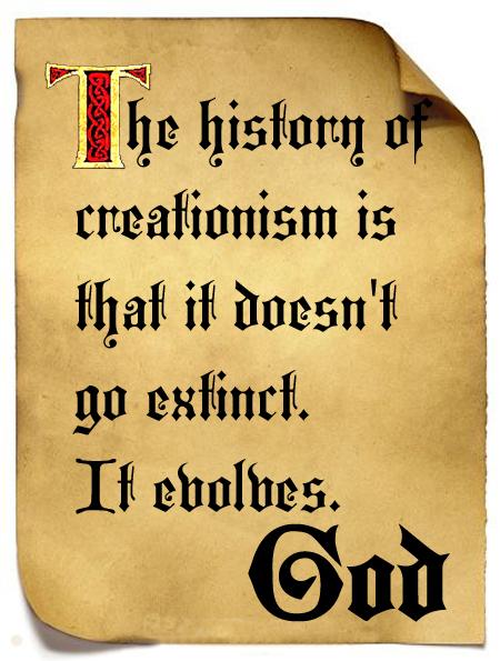 God and Creationism