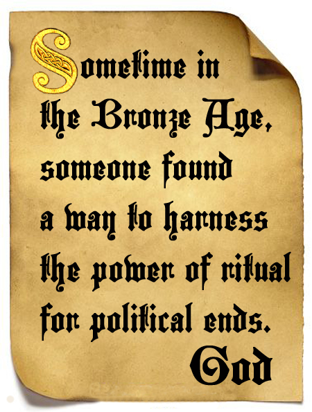 Sometime in the Bronze Age, someone found a way to harness the power of ritual for political ends