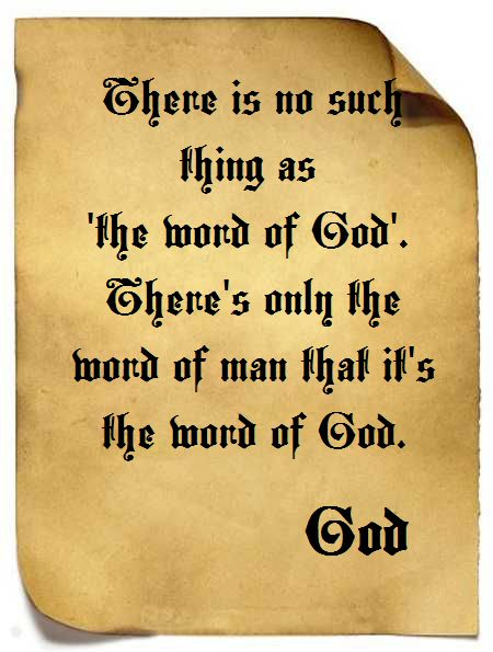 God and the Word of God
