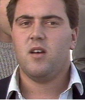 Student Joe Hockey addresses the media in 1987, protesting against a new uni fee. (theage.com.au)