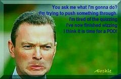 Pyne ihas made himself very caricaturable