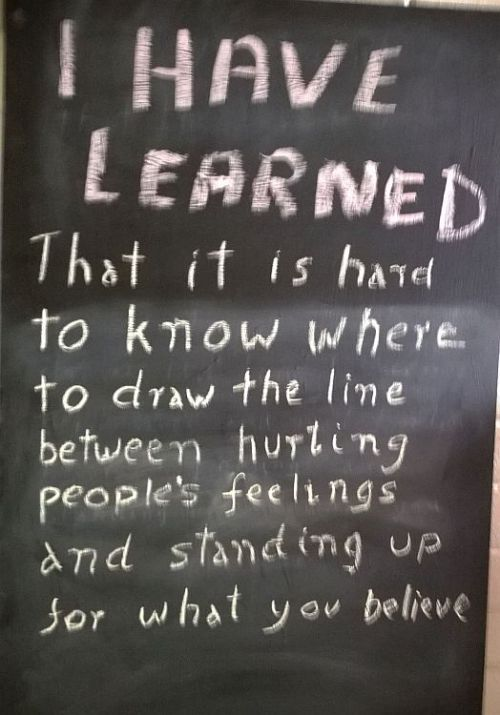 I have learned 1