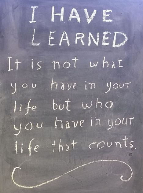 I have learned14
