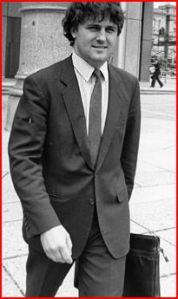 Young solicitor Malcolm Turnbull.