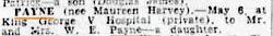 SMH; Sat 11th May, 1946