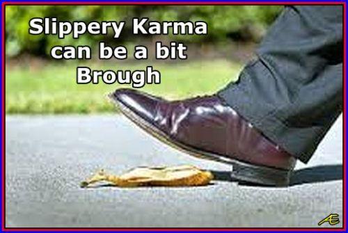 slippery karma