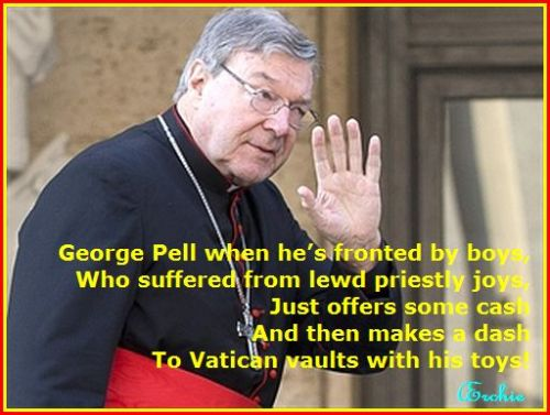 George Pell, running