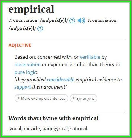 Impirical